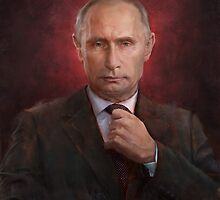 Vladimir Putin Time Person of the Year cover by pavelsokov