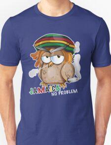 jamaican owl cartoon  Unisex T-Shirt