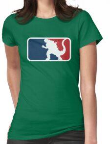 Godzilla Womens Fitted T-Shirt