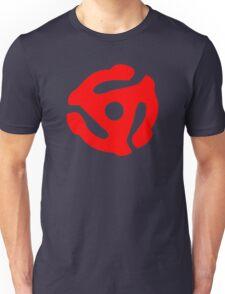 Red 45 Vinyl Record Symbol Unisex T-Shirt