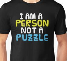 Person Not a Puzzle Unisex T-Shirt
