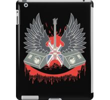 British Music Guitar Wings Collage iPad Case/Skin