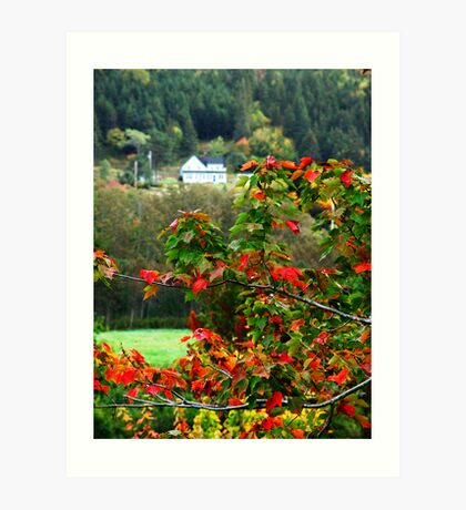 Autumn in the Highlands Art Print