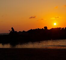 Orange Sunset by MayaHead