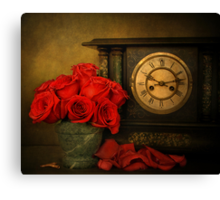 Enduring Roses Canvas Print