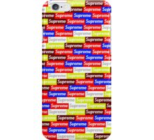 Supreme Phone Case iPhone Case/Skin
