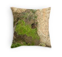 Who lives here? Throw Pillow
