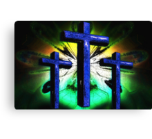 The Old Rugged Cross 2 Canvas Print
