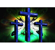 The Old Rugged Cross 2 Photographic Print