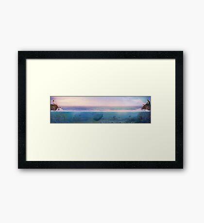 Only An Ocean Away Framed Print