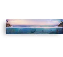 Only An Ocean Away Canvas Print