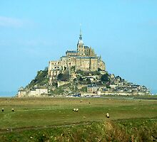 Mt St Michel, Normandy, France by triciamary