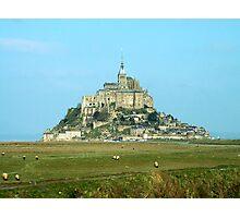 Mt St Michel, Normandy, France Photographic Print