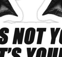 eyebrows Sticker