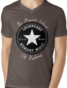 The Bogard School of Fighting Mens V-Neck T-Shirt