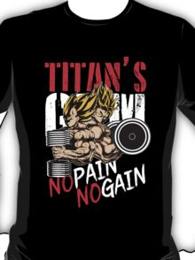 NO PAIN NO GAIN - GYM T-Shirt