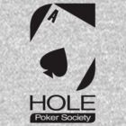 Ace Hole Poker Society (black-heartside) by Poncho72