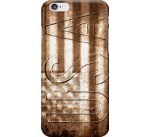 USA in Sepia iPhone Case/Skin