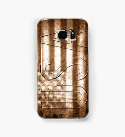USA in Sepia Samsung Galaxy Case/Skin