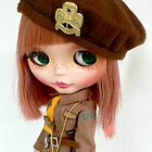 Blythe English Brownie by MaryHogan