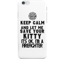 Firefighter Tee Shirt iPhone Case/Skin