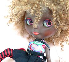 Blythe Blonde Afro by MaryHogan