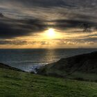 South Devon Sunset by benivory