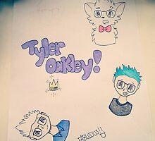 Tyler OAKley lol u get it? like me? ahhahahahhahaha im so lonely by Oak and Moonlight ! ☆☆