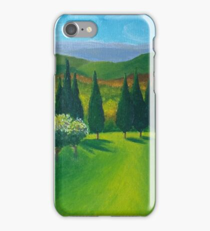 Tuscany Countryside iPhone Case/Skin