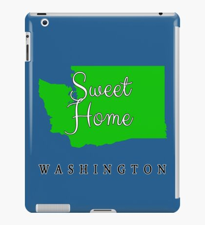 Washington Sweet Home Washington iPad Case/Skin