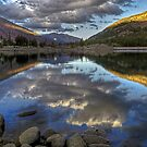 Calm Waters -- HDR of Tioga Lake by Dennis Jones - CameraView