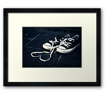 Chucks love Framed Print