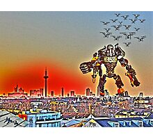 Swarm over Frankfurt by #fftw Photographic Print