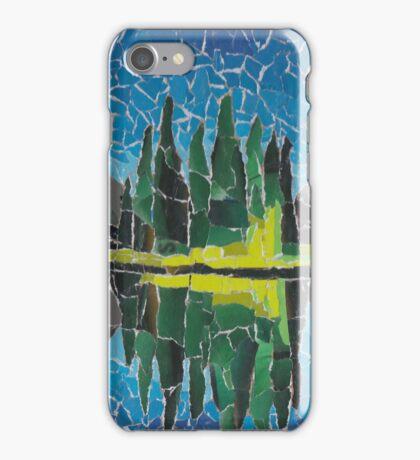 spirit island sunset, jasper at night iPhone Case/Skin