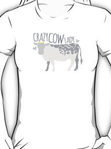 Crazy cow lady T-Shirt