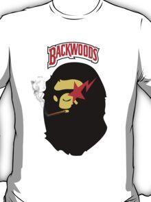 BACKWOOD SMOKING APE  T-Shirt