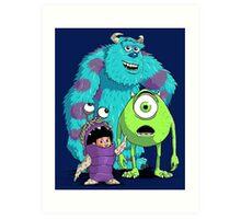 Monsters, Inc. Art Print