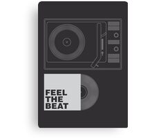 FEEL THE BEAT Canvas Print
