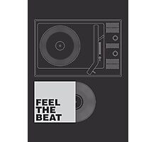 FEEL THE BEAT Photographic Print