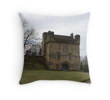 Morpeth Castle Throw Pillow