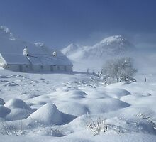 Blackrock Cottage, Glen Coe, Highland Scotland. by photosecosse /barbara jones