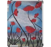 Poppies Seascape iPad Case/Skin