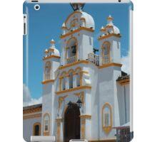 Facade of Quiroga Church iPad Case/Skin