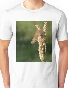 Harvest mouse on an ear of wheat T-Shirt