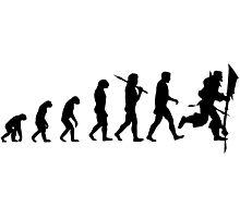 Evolution of Leeroy Photographic Print
