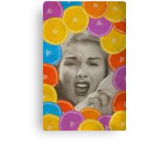 Color Chaos Collection -- Citrus Muss Canvas Print