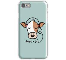 Moo-sic Cow iPhone Case/Skin