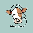 Moo-sic Cow by zoel