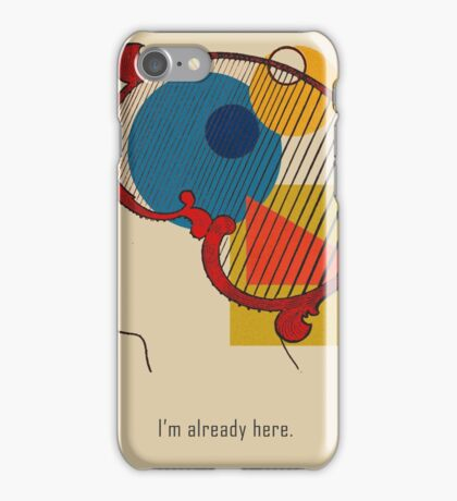 A Quick Thought. iPhone Case/Skin