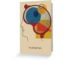 A Quick Thought. Greeting Card